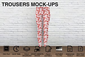 Trousers Mockups - Woman Clothing