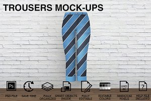 Trousers Mockups - Clothing Mockups