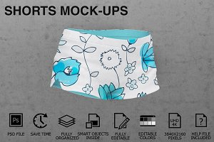 Shorts Mockups - Woman Clothing