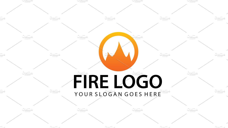 Abstract Fire Logo Template ~ Logo Templates ~ Creative Market