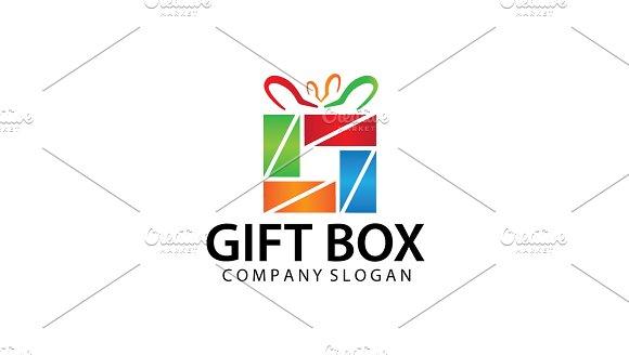 Simple Gift Shop Logo Template V.2 - Logos