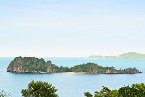High viewpoint island