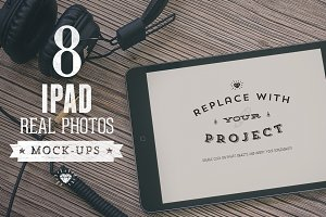 8 Hip iPad mock-ups Bundle