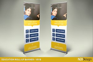 Education Roll-Up Banner - SK