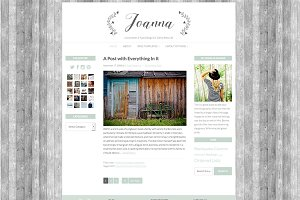 """Joanna"" Wordpress Theme"