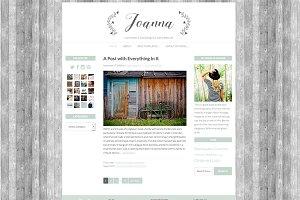 """Joanna"" Wordpress Theme"
