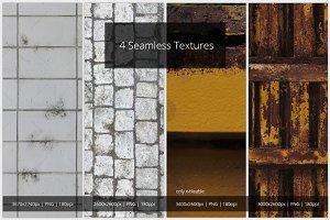 4 Seamless Textures