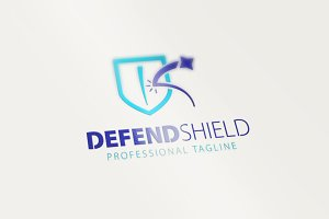 Defend Shield Logo