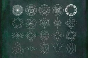 20 Geometric Shapes