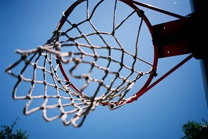basketball sunny day usa