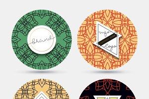 Emblem. Design element