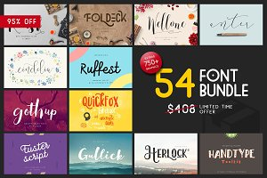 Font & Graphic Bundle - 95% off