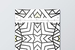 Geometric design cover book