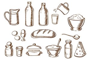 Bakery ingredients and food