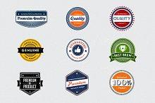 Vector Retro Badges