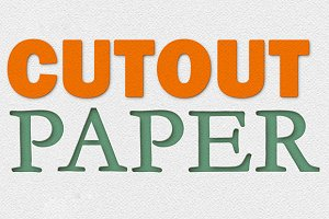 Paper Cutout Template