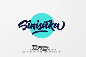 Sinisuka Logo Font