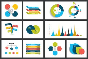 Elements of infographics.
