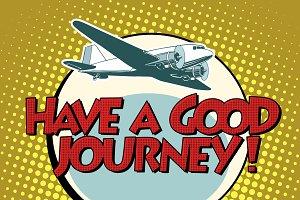 have a good journey flight plane