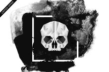 Skull - Geometric Illustration