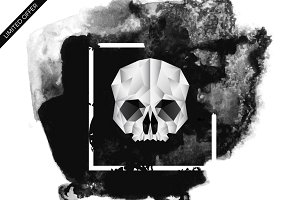 Skull - Geometric Illustration