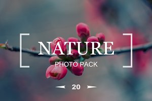 20 floral backgrounds - Photo Pack