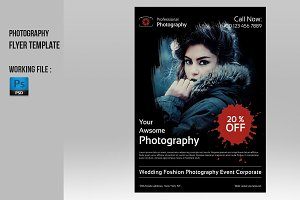 Photography Flyer Template-V235