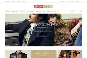 ShopMore -  Magento Theme