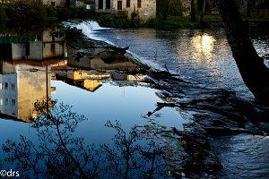 Waterfall Allariz (Galicia)
