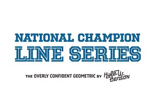 National Champion - Line Series