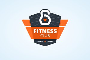 Fitness club sign