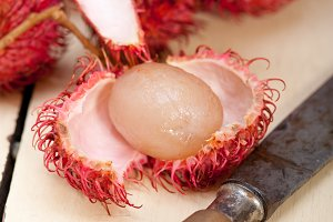 fresh rambutan fruit