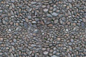 Seamless tileable texture -  stone floor