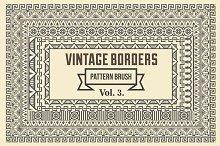Vintage Borders Pattern Brushes 3
