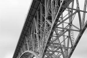 Aurora Bridge BW