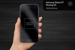 Samsung Galaxy S7 Mockup 1