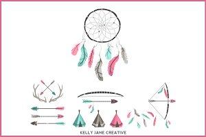 Arrows, Teepees, Antlers & more