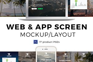 Screen Mockups & Layouts