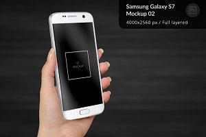 Samsung Galaxy S7 Mockup 2