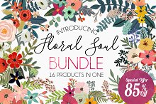 Floral Soul Bundle - 85% Off
