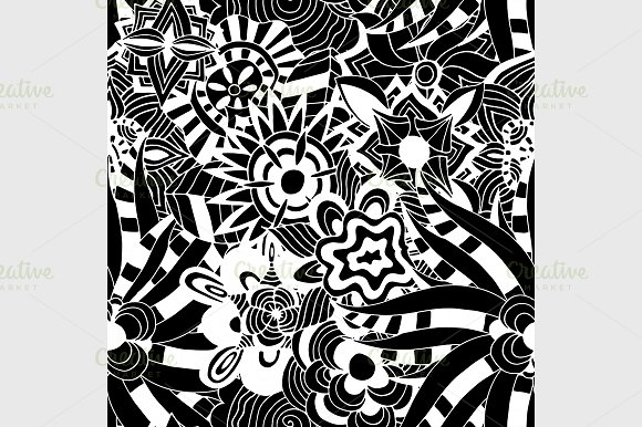 Ornament Pattern in Graphics