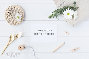 Styled stock photo - Card mock up