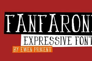 Fanfarone (font)