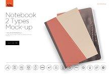 Notebook 2 Types Mock-up