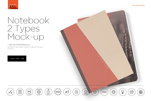 Notebook 2 Types Mock-up