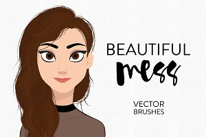 Beautiful Mess - Vector Brushes
