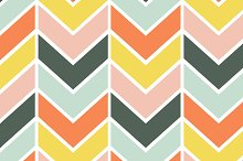Cheerful Chevron Seamless Pattern