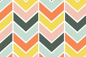 Cheerful Chevron Seamless Pattern