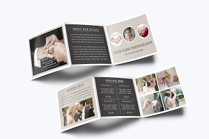 Photography Trifold Brochure Templat