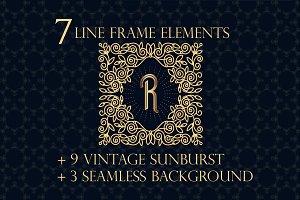 Line frame elements